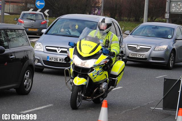 Police Demonstrator / BMW R1200 / Roads Policing Unit / LD61 RUH