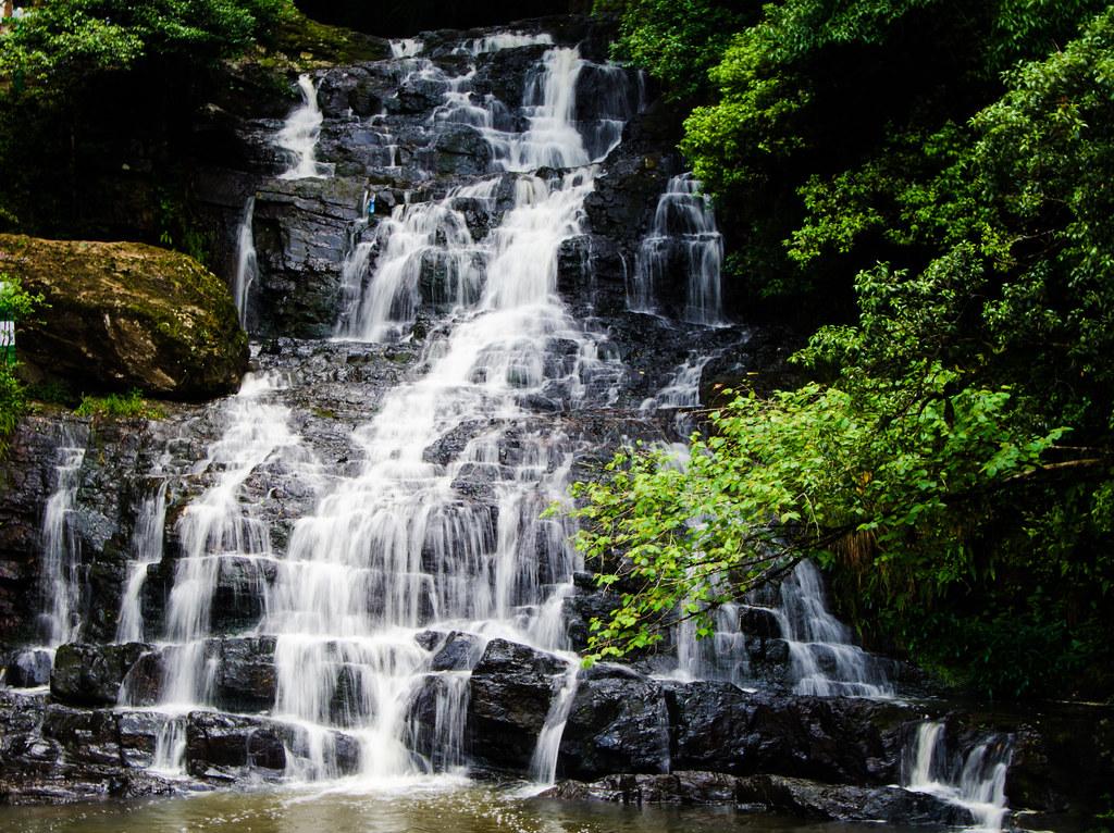 Elephant Falls in Meghalaya