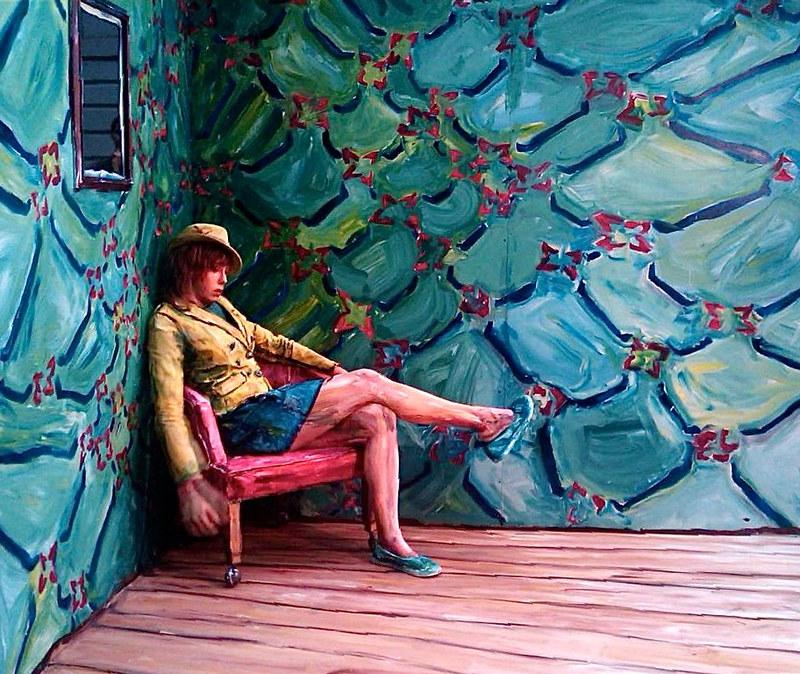 Alexa Meade @ The National Portrait Gallery