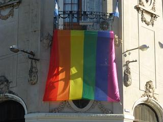 Consejo Municipal con la bandera LGBT (Rosario) | by loco085