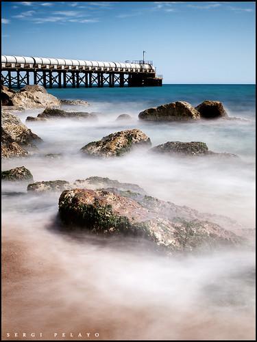longexposure bridge water landscape puente spain olympus catalonia zuiko bracelona e420 nd110 zd1442