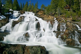 Lower Glen Alpine Falls, Lake Tahoe, CA | by SteveD.