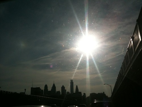 Philadelphia from the Ben Franklin Bridge | by Soapbox Girl (Carol Anne)