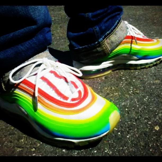 nike air max 97 lux rainbow