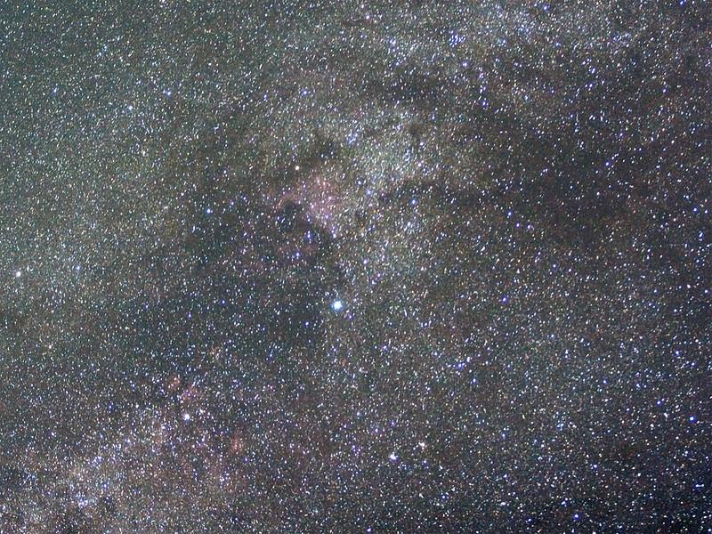 Milchstraße im Schwan
