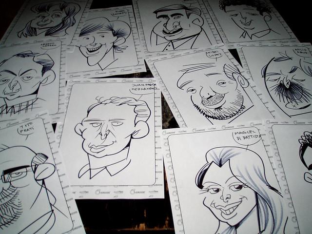 show caricaturas-souvenirs-