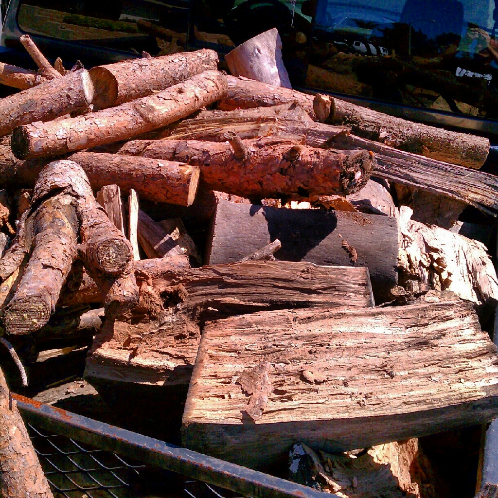 got wood? Someone on Craigslist just wanted to get rid of ...