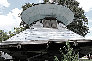 UFO Welcome Center in Bowman, SC   by learr