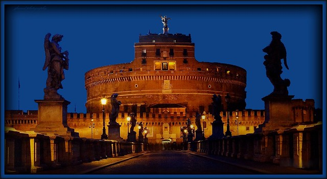 Castel Sant'Angelo in the blue hour