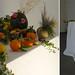 Rebus, 2011, installazione, materiali vari frutta, ortaggi, semi, piante... tavolo, tessuto