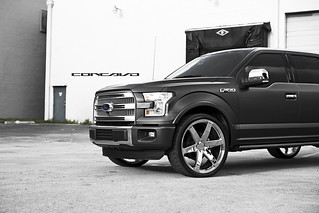 """Ford F150 Platinum on Chrome 26"""" CW-6   by Concavo Wheels"""