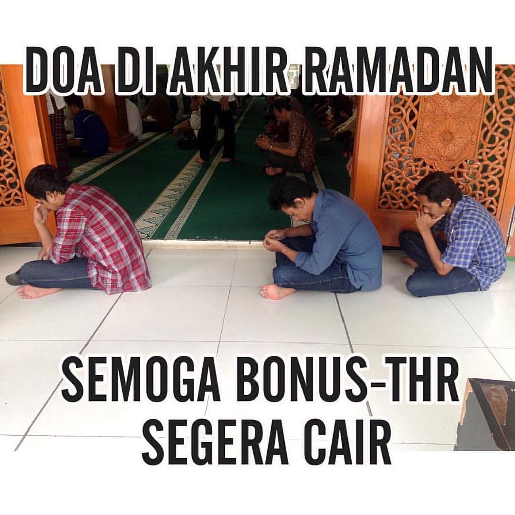 Doa di akhir ramadan meme ramadan lucu funny funnymem flickr
