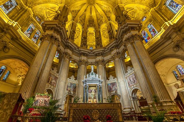 Altar Mayor Catedral Málaga