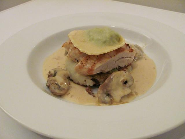 img_0025 - Chicken, Ravioli, Mushrooms and Perry Sauce