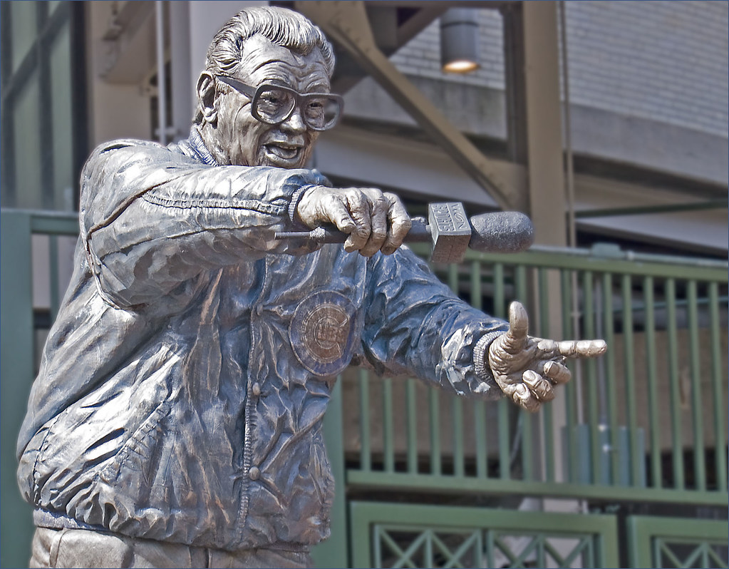 Image result for harry caray statue