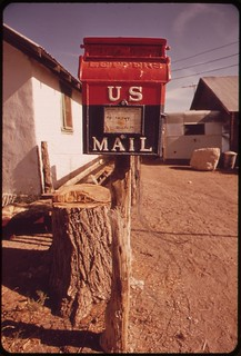 Post office at Alamo, May 1972 | by The U.S. National Archives