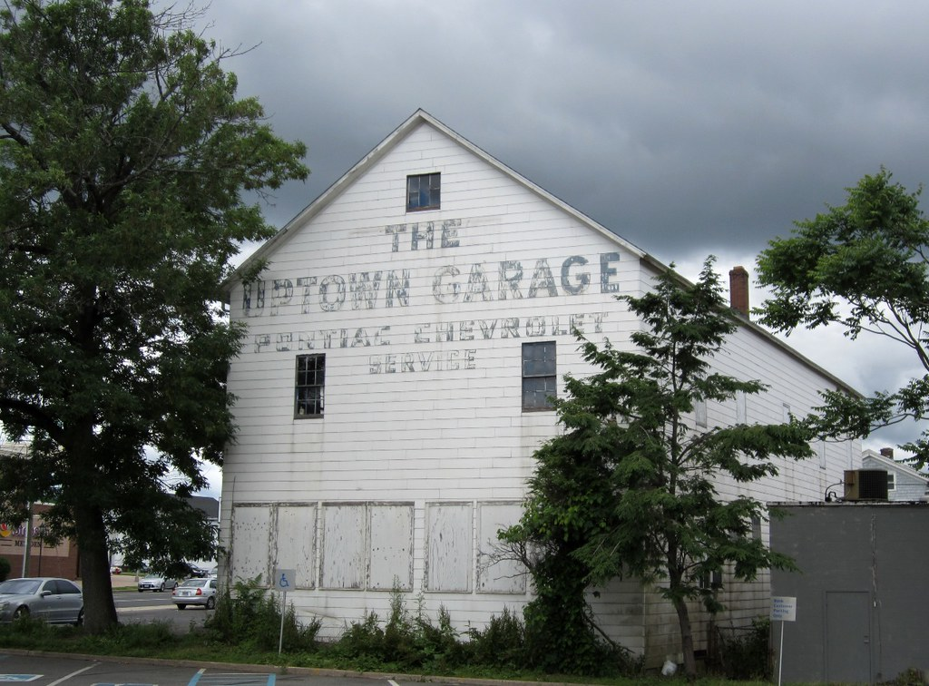 The Uptown Garage, Meriden, CT | Faded ghost sign on what lo… | Flickr