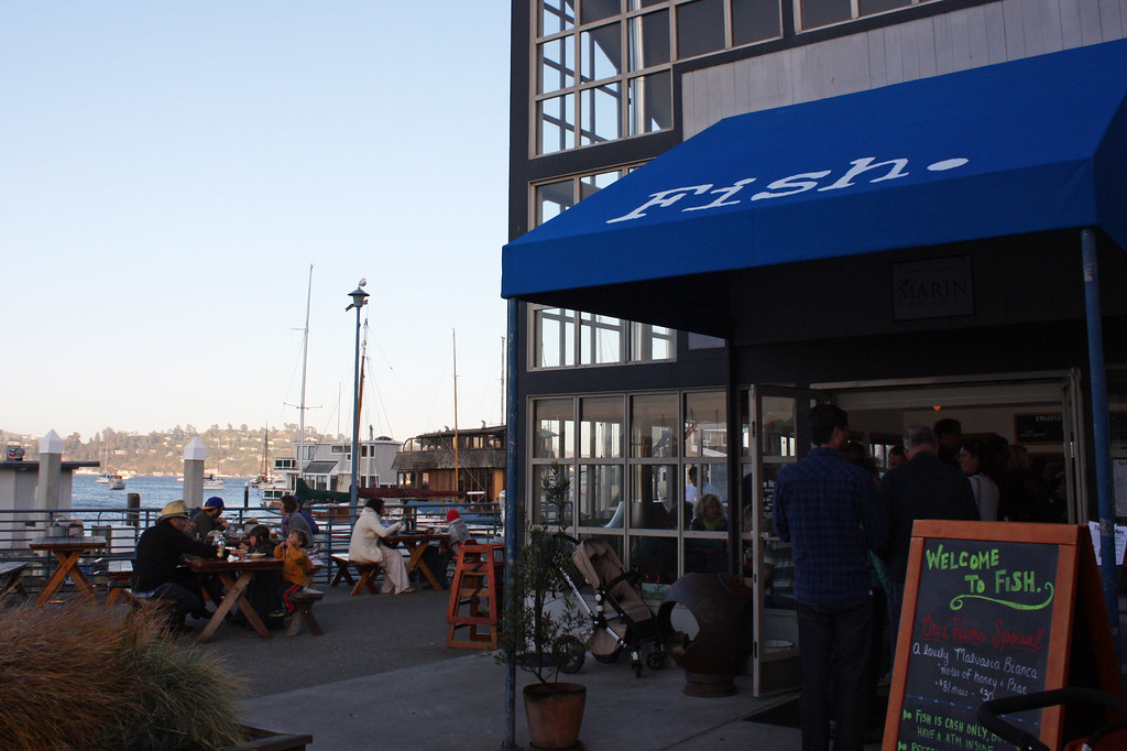 Fish Restaurant Sausalito From On The Road A Trip To Co