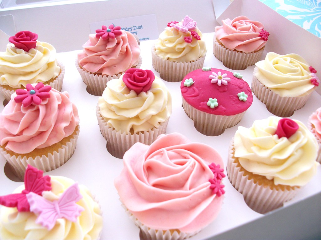 Pink Pretty Cupcakes Www Fairydustbakery Co Uk Flickr
