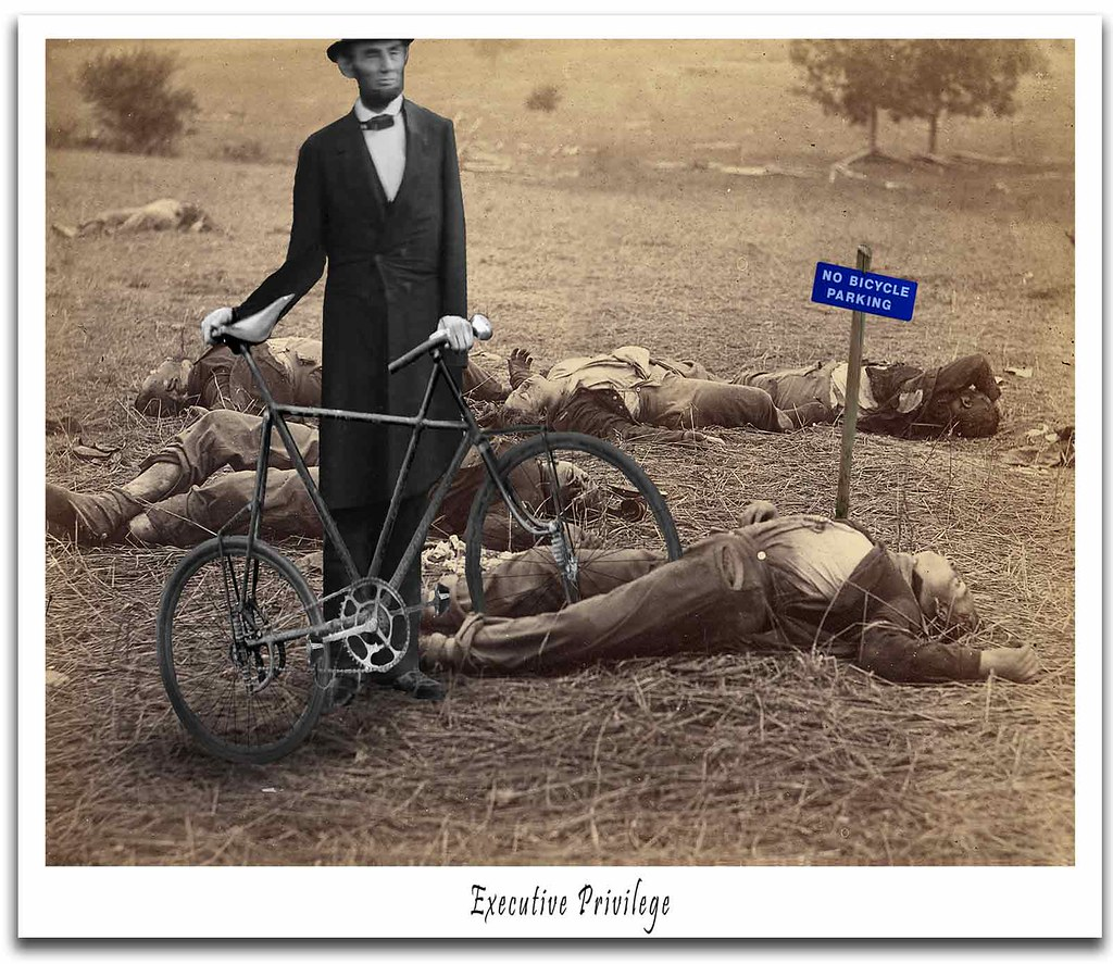 Lincoln Bikes To Gettysburg From