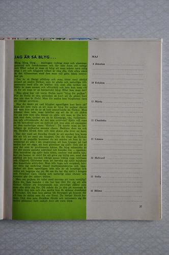 Evas kalender maj 1963 | by kerstin.kokk