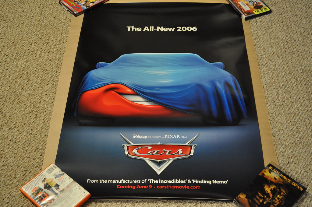 Cars Movie Poster Executive Outcomes Flickr