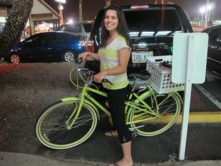 Las Vegas: Chrissy on her sexy bike | by mormolyke
