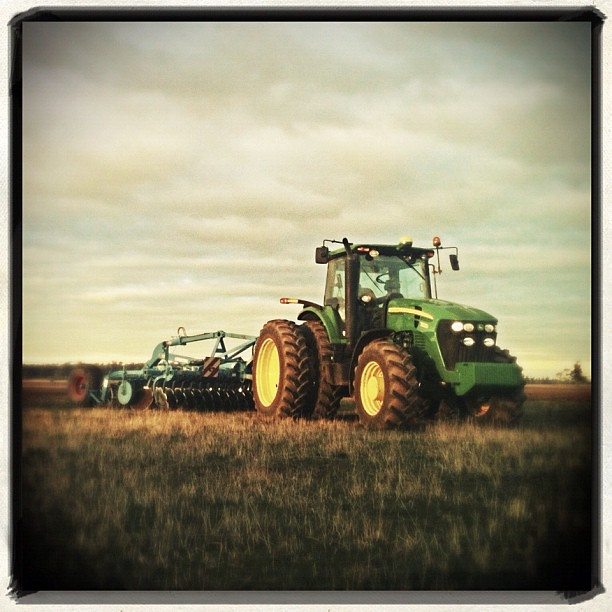 Take You For A Ride On My Big Green Tractor Green T Flickr