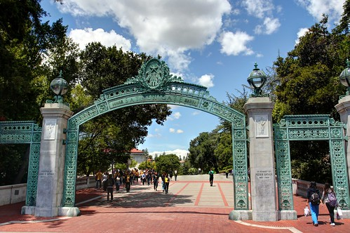 Scenes from UC Berkeley - Sather Gate | by John-Morgan