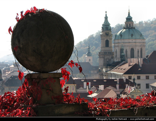 View from Prazsky Hrad, Prague, Czech Republic
