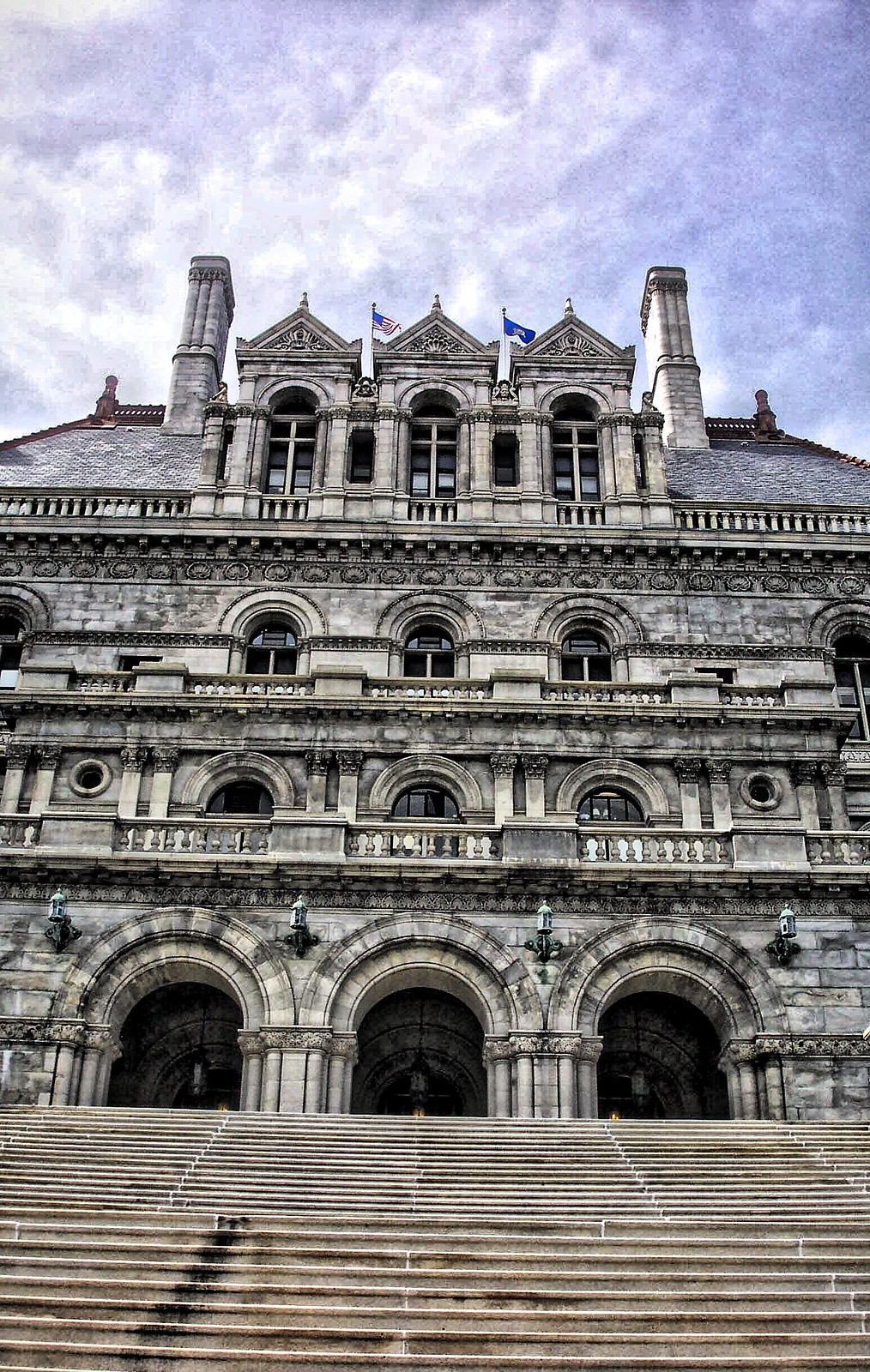New York State Capitol ~ Albany New York ~ Exterior ~ Historic