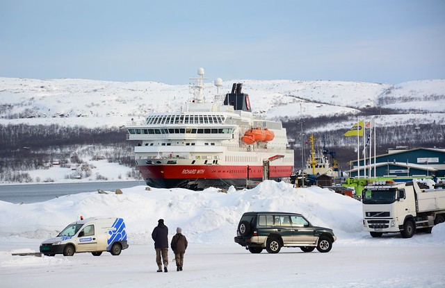 MS Richard With moored at Kirkenes, Norway