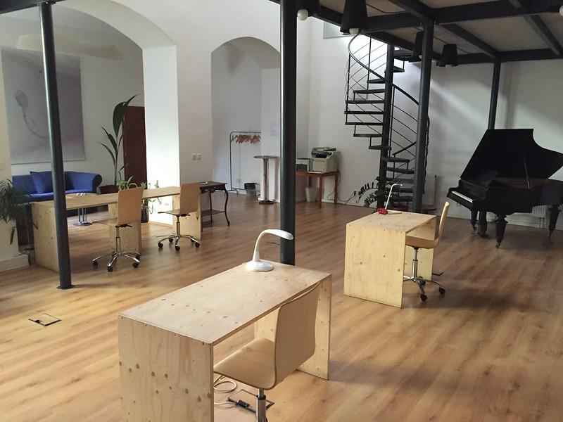 Pracovna coworking space