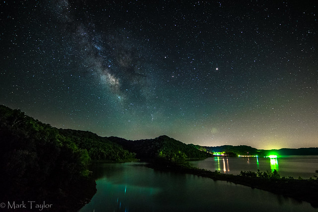 Milky Way over the Park