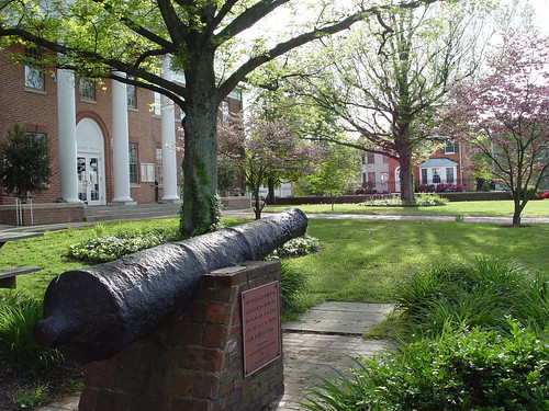Cannon from the Dove, Old Jail Museum, Leonardtown