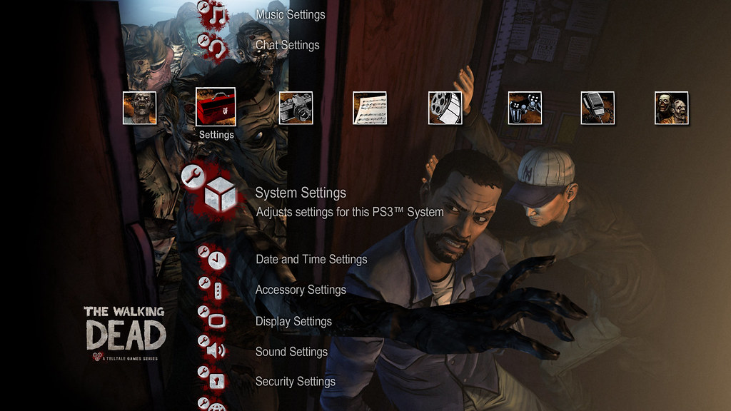 The Walking Dead for PS3 (PSN): PS3 Dynamic Theme | PlayStation Blog