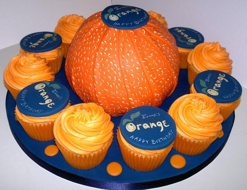 Fabulous Terrys Chocolate Orange Cake And Cupcakes Liz Flickr Funny Birthday Cards Online Hetedamsfinfo