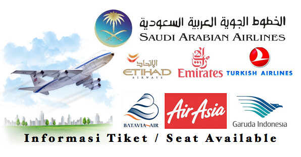 Informasi Tiket Penerbangan Pesawat Travel Umroh Haji Plus