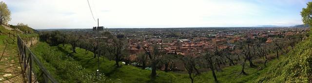 Pietrasanta panorama