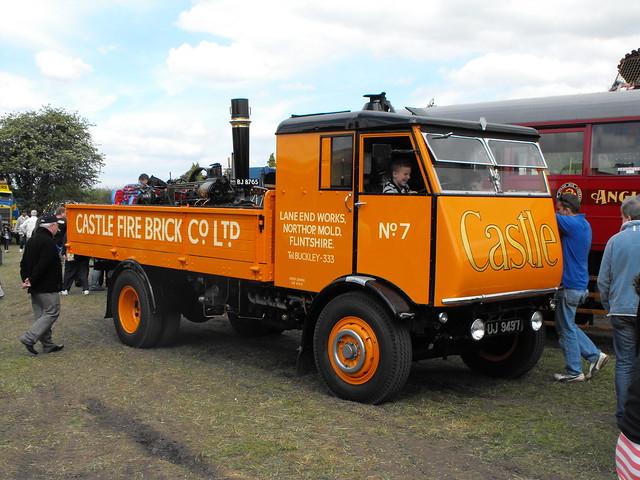 Sentinel Steam Powered Lorry @ Stotfold 2012