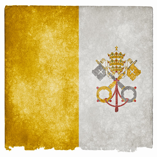 Vatican Grunge Flag | by Free Grunge Textures - www.freestock.ca