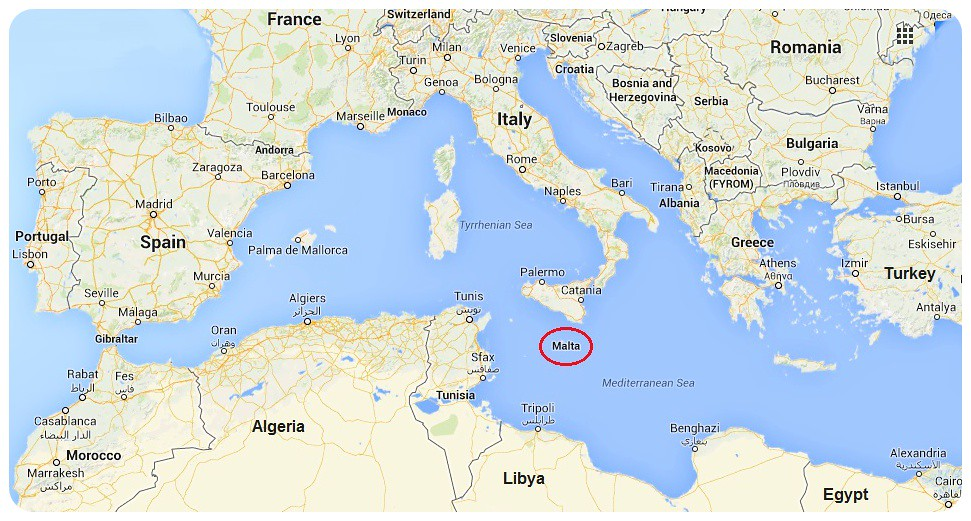 Malta Map Europa Globetrottergirls Flickr