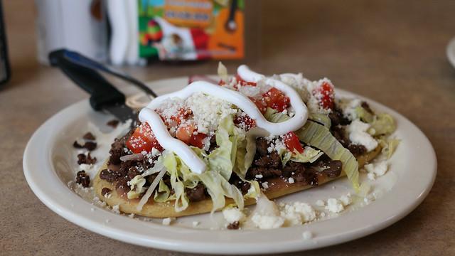 Carne Asada Steak Huarache from Mi Rinconcito Mexicano in Des Moines, Iowa