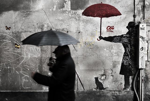 pêcher les parapluies