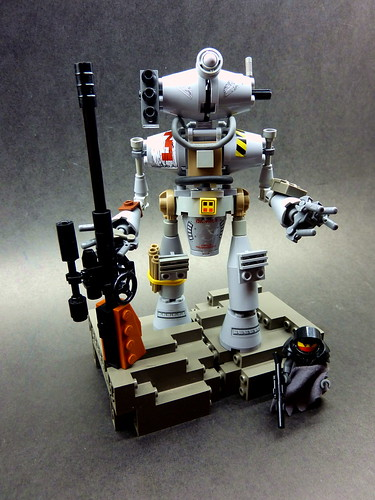 Scavanger Bot and the Outcast