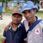 Two guys who wanted their picture taken in Maubissi