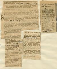 Elsie Ey Articles 1952