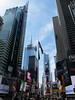 New York – Times Square – křižovatka Broadway a 7th Avenue, foto: Luděk Wellner
