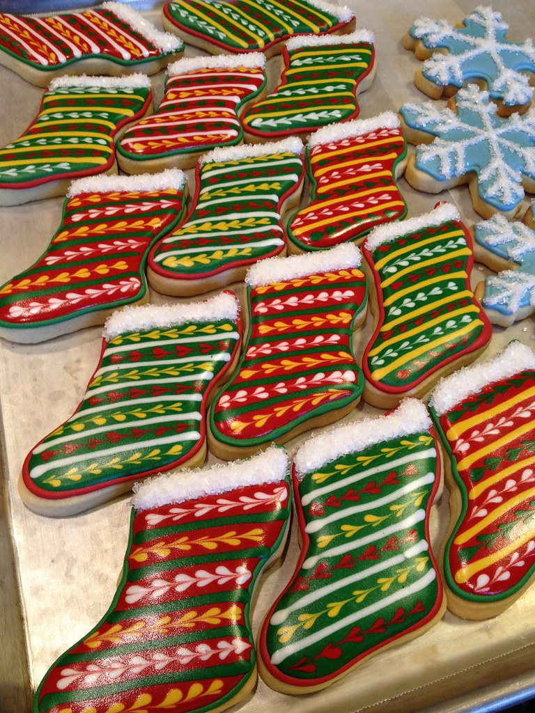 Stocking Sugar Cookies Kmcerenzia Flickr
