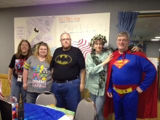 Superheroes at the Summit